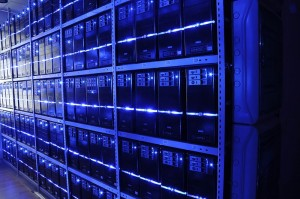 Anthem Data Breach - Example server room photo by Wikicommons User Fleshas